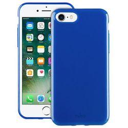 PURO Sunny Kit - Zestaw etui iPhone 7 + składane okulary przeciwsłoneczne (niebieski)