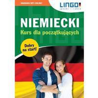 Książki dla dzieci, Niemiecki kurs dla początkujących książka + cdmp3 (opr. miękka)