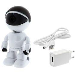 Kamera do obserwacji niani opiekunki ukryta LV-IP27PTZ PTZ Robot KEEYO IP FullHD Niania Elektroniczna 2MPx IR 10m