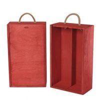 Ozdobne pudełka, V2 skrzynka upominkowa czerwona
