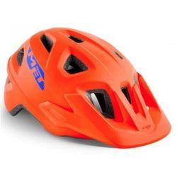 MET Eldar Kask rowerowy Dzieci, orange 52-57cm 2020 Kaski dla dzieci