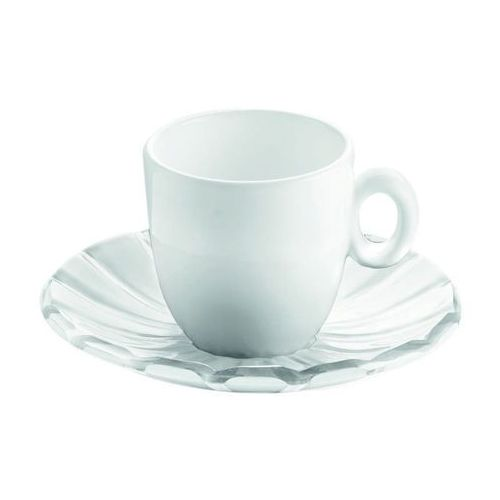 Filiżanki, Guzzini - Grace - kpl. 2 filiżanek espresso - biały