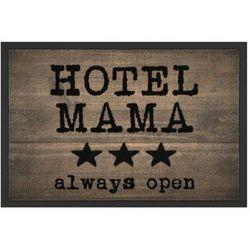 """Wycieraczka """"Hotel Mama"""" bonprix brązowy"""