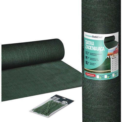 Przęsła i elementy ogrodzenia, Siatka Premium 90% Cieniująca Maskująca na Ogrodzenie 1,5m x 25m - 140 g/m2