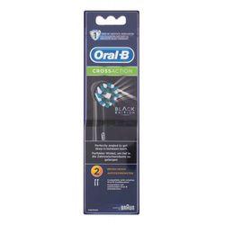 Oral-B CrossAction Black Edition szczoteczka do zębów 2 szt unisex