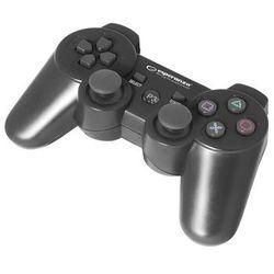 """Gamepad bezprzewodowy Bluetooth PS3 Esperanza """"Marine"""" czarny"""
