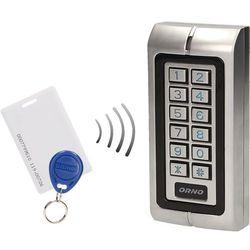 Zamek szyfrowy z czytnikem kart i breloków zbliżeniowych OR - ZS - 804 ORNO