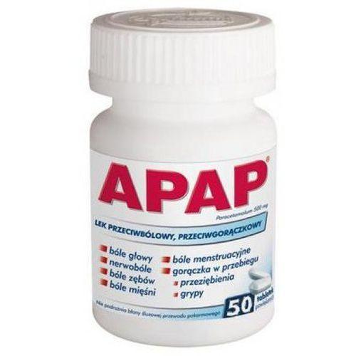 Leki na gorączkę, Apap tabl.500mg x 50
