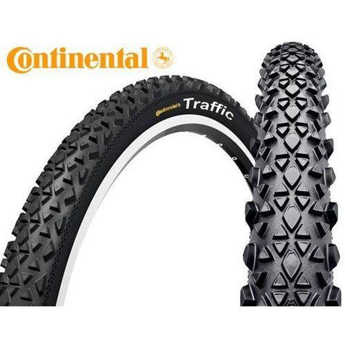 Opony i dętki do roweru, Opona Continental Traffic 26x1,9 drutówka 820 g Reflex