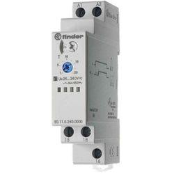 Przekaźnik czasowy 1CO 16A 24-240V AC/DC, Funkcja AI: załączenie po nastawionym czasie 80.11.0.240.0000