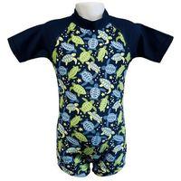 Stroje kąpielowe dla dzieci, Strój kąpielowy kombinezon dzieci 108cm filtr UV50+ - Turtle Print \ 108cm