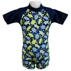 Strój kąpielowy kombinezon dzieci 108cm filtr UV50+ - Turtle Print \ 108cm