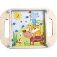Gry dla dzieci, Gra zręcznościowa z kulką HABA - Zwierzak na zwierzaku HB302111