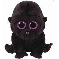 Pluszaki pozostałe, Maskotka TY Beanie Boos - czarny goryl George, 24 cm