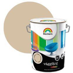 Farba lateksowa Beckers Vaggfarg Colour musta 5 l