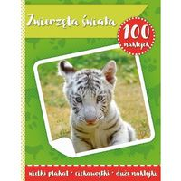 Naklejki, 100 naklejek II zwierzęta świata - książka