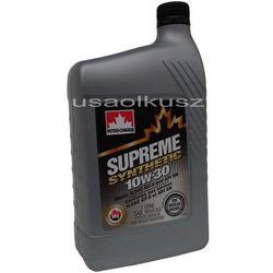 Olej silnikowy syntetyczny SUPREME Petro Canada 10W30 1l