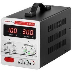 Stamos Soldering Zasilacz laboratoryjny - 0-30 V - 0-10 A DC - LED S-LS-35 - 3 LATA GWARANCJI