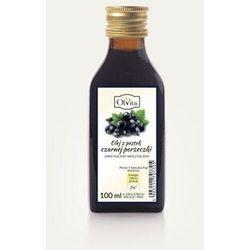 Olej z pestek czarnej porzeczki zimnotłoczony, nieoczyszczony 100ml