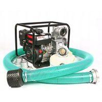 Sprzęt przeciwpożarowy, MOTOPOMPA, POMPA SPALINOWA Holida QGZ80-30 + WĘŻE ZESTAW