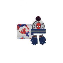Spiderman czapka, szalik, rękawice1X35BC Oferta ważna tylko do 2022-01-21