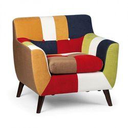 Fotel patchworkowy FIESTA