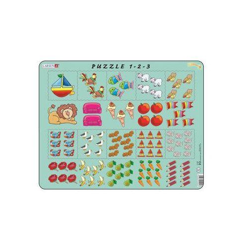 Puzzle, Puzzle MAXI - Počítání pro nejmenší s obrázky/10 dílků neuveden