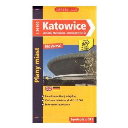 Mapy i atlasy turystyczne, Katowice. czeladź, mysłowice, siemianowice śl. (opr. broszurowa)
