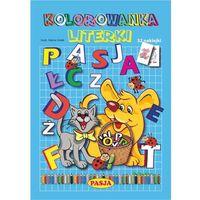 Kolorowanki, Literki, kolorowanka - Halina Gołek OD 24,99zł DARMOWA DOSTAWA KIOSK RUCHU