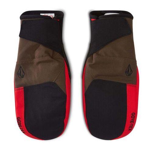Rękawice ochronne, Rękawice snowboardowe VOLCOM - Stay Dry GORE-TEX J6852105 Red