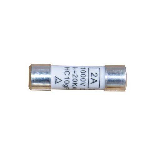 Baterie słoneczne, Wkładka topikowa cylindryczna 10x38 25A gRPV 1000V DC