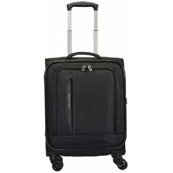 Travelite Crosslite mała walizka kabinowa / laptop 14'' / czarny - czarny ZAPISZ SIĘ DO NASZEGO NEWSLETTERA, A OTRZYMASZ VOUCHER Z 15% ZNIŻKĄ