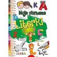 Książki dla dzieci, Moje pierwsze literki - praca zbiorowa (opr. miękka)