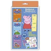 Książki dla dzieci, PAKIET BAJKOWA AKADEMIA ŚWINKA PEPPA - Opracowanie zbiorowe (opr. miękka)