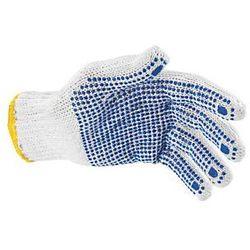 Rękawice nakrapiane jednostronnie rozm 7