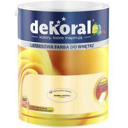 Farba Lateksowa Akrylit W Kolor Miodowy Pastelowy 5l Dekoral