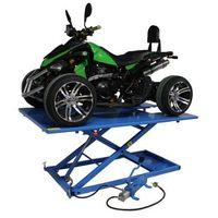 Pozostałe akcesoria do motocykli, Podnośnik do quada hydrauliczno – pneumatyczny krzyżakowy 675 kg