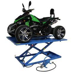 Podnośnik do quada hydrauliczno – pneumatyczny krzyżakowy 675 kg - ML75HA