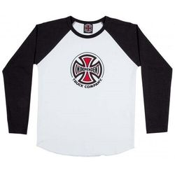 koszulka INDEPENDENT - Truck Co. Baseball BlackWhite (BLACK-WHITE) rozmiar: 10-12