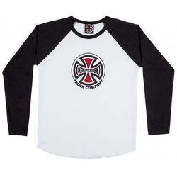 koszulka INDEPENDENT - Truck Co. Baseball BlackWhite (BLACK-WHITE) rozmiar: 6-8