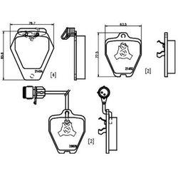 Zestaw klocków hamulcowych, hamulce tarczowe TEXTAR 2145201