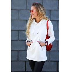Bluza damska DORETA WHITE