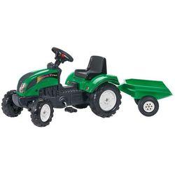 FALK Traktor z przyczepą, zielony 2/5 Darmowa wysyłka i zwroty