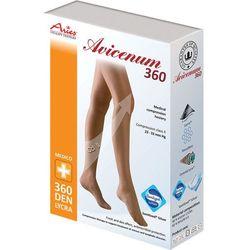 Aries Avicenum 360 - pończochy zdrowotne samonośne z lamówką