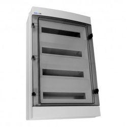 Rozdzielnica natynkowa hermetyczna Elektro-plast RH 4X18 RH-72/4 drzwi transp. 36.172