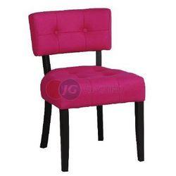 Krzesło bez podłokietnika bez guzików Buk Paged A-9440
