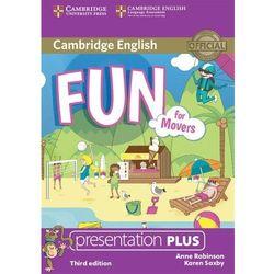 Fun for Movers Presentation Plus DVD - Anne Robinson, Karen Saxby. DARMOWA DOSTAWA DO KIOSKU RUCHU OD 24,99ZŁ