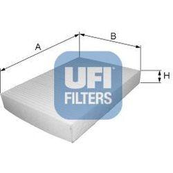 Filtr, wentylacja przestrzeni pasażerskiej UFI 53.145.00