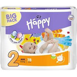 BELLA HAPPY Mini (3-6 kg) Big Pack 78 szt. – pieluszki jednorazowe