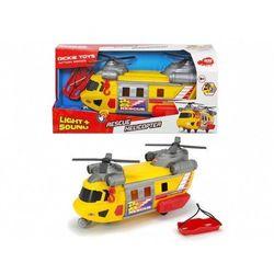 Auto Helikopter ratunkowy żółty 30cm